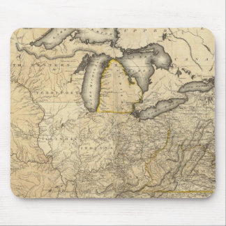 A new and correct map of the United States Mouse Pad