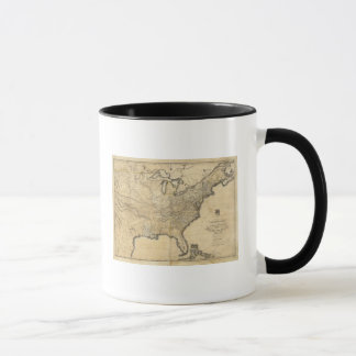 A new and correct map of the United States Mug