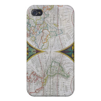 A New and Correct Map of the World, 1770-97 iPhone 4/4S Cases