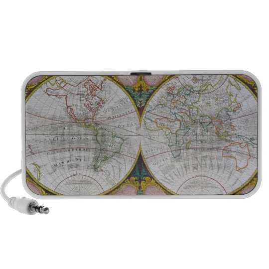 A New and Correct Map of the World, 1770-97 Mini Speaker