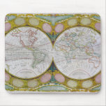 A New and Correct Map of the World, 1770-97 Mouse Pad