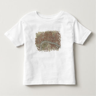 A New and Exact Plan of the Cities of London and W Tee Shirt