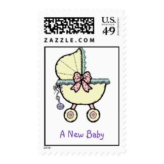 A New Baby Postage Stamp