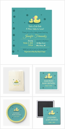 A New Baby to Love Duck Baby Shower