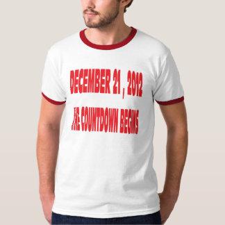 A new Begining, Mayan Calendar ends 12/21/ 2012 T-shirts