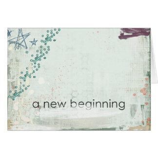 a new beginning cards