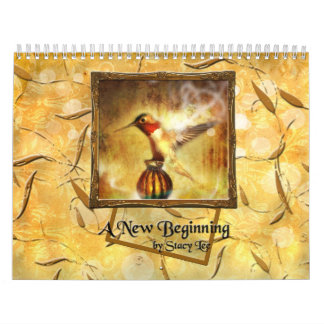A New Beginning Contemporary Digital Art Calendar