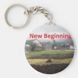 A new beginning keychain