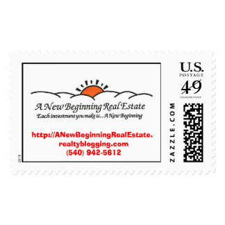 A New Beginning Real Estate $0.39 Postage Stamp
