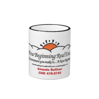 A New Beginning Real Estate 11 oz mug