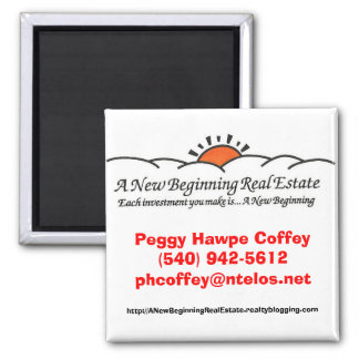 A New Beginning Real Estate Magnet