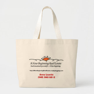 A New Beginning Real Estate Tote Tote Bags