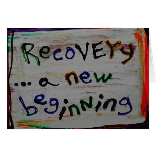 a new beginning recovery cards