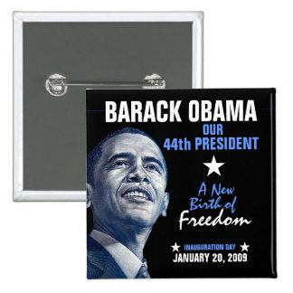 A New Birth of Freedom 2 Inch Square Button