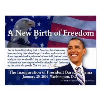 A New Birth of Freedom Postcard