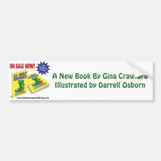 A New Book By Crawford and Osborn (artist) Bumper Sticker