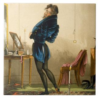 A New Coat (colour litho) Tile