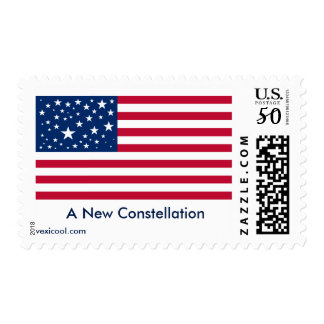 A New Constellation for the American Flag Postage