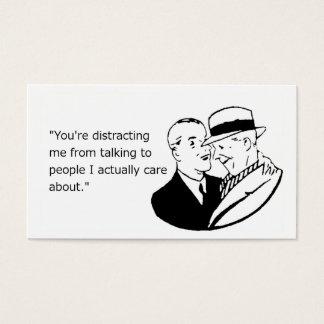 A New Conversation Partner Business Card