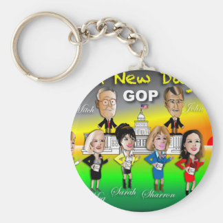 A New Day Keychains
