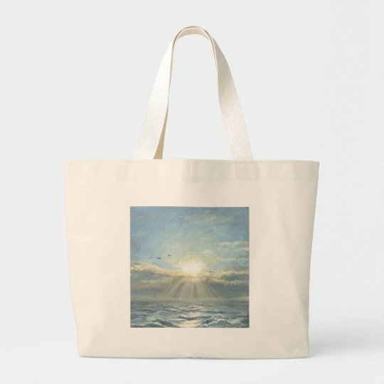 A New Day Large Tote Bag