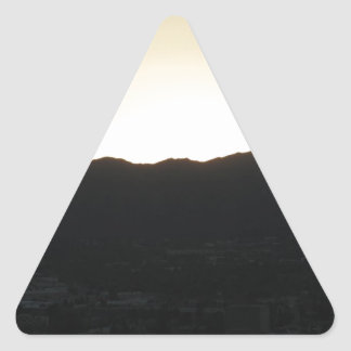 A New Day Triangle Sticker