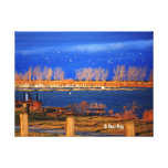 A New Day Wrapped Canvas Canvas Print