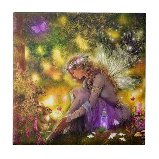 A New Freindship Fantasy Fairy Ceramic Tile