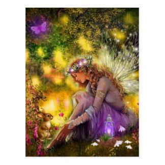 A New Freindship Fantasy Fairy Postcard