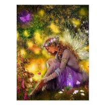 A New Friendship Fantasy Fairy Postcard