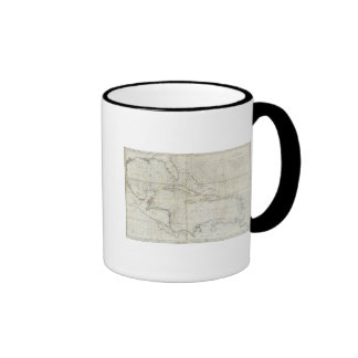 A new general chart of the West Indies Ringer Coffee Mug