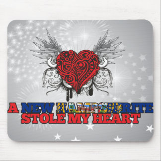 A New Hampshirite Stole my Heart Mouse Pad