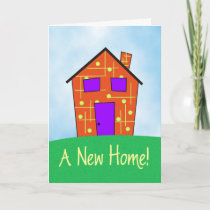 A New Home! Card