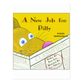 A NEW JOB FOR DILLY POSTCARD