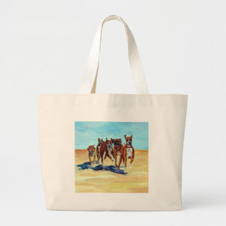 A New Leash on Life Large Tote Bag