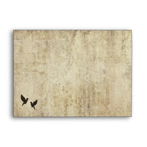 A New Life Begins Today Wedding Invitation Envelope