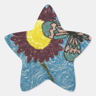 A New Life Star Sticker