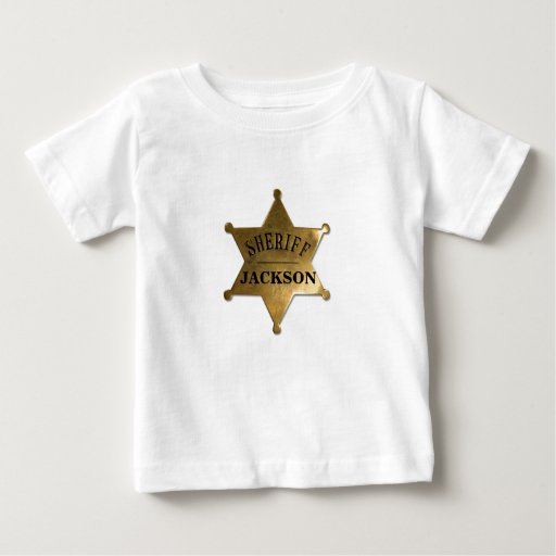 A New Lil' Sherriff in Town T-shirts