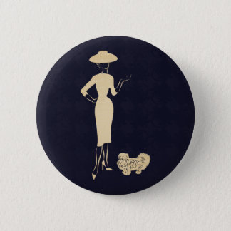 A New Look Vintage 1950s Fashion Button