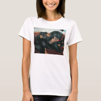 A New Man in Her Life women's baby doll tee