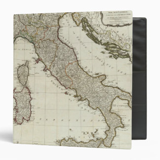 A new map of Italy with the islands of Sicily Binder
