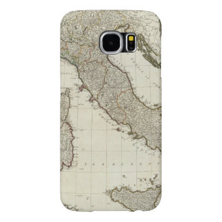 A new map of Italy with the islands of Sicily Samsung Galaxy S6 Cases