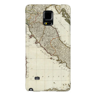 A new map of Italy with the islands of Sicily Galaxy Note 4 Case