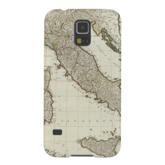 A new map of Italy with the islands of Sicily Galaxy S5 Case