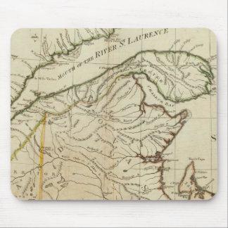 A New Map of Nova Scotia, and Cape Breton Island Mouse Pad