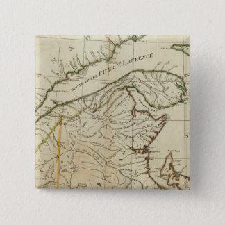 A New Map of Nova Scotia, and Cape Breton Island Pinback Button