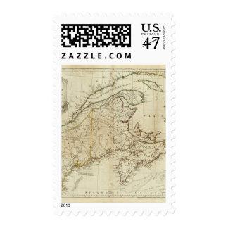 A New Map of Nova Scotia, and Cape Breton Island Stamp