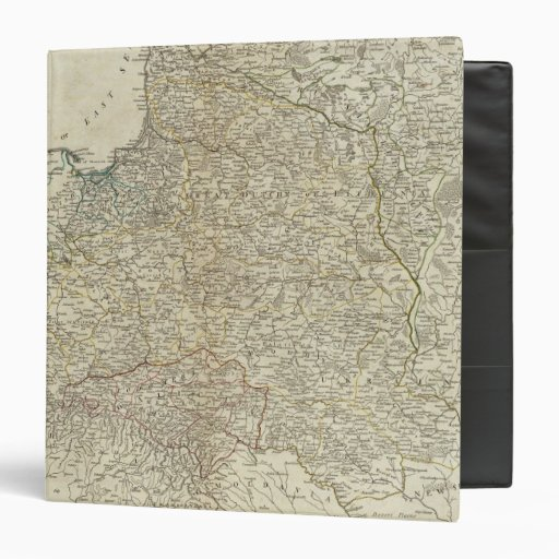 A new map of the Kingdom of Poland Vinyl Binders