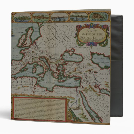 A New Map of the Roman Empire Binder