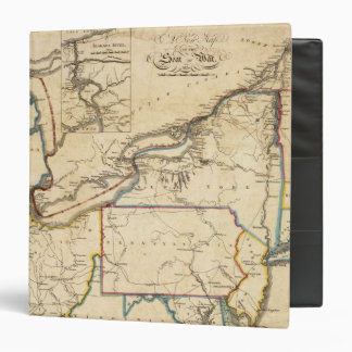 A New Map Of The Seat Of War 3 Ring Binder